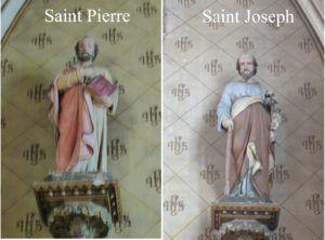 saint Joseph et Pierre